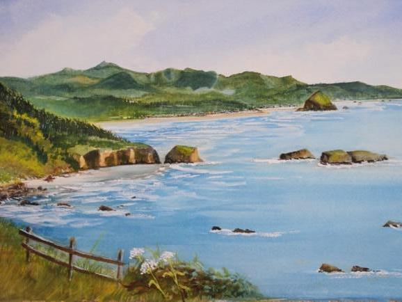 """A Place for Bev 11"""" X 20"""""""